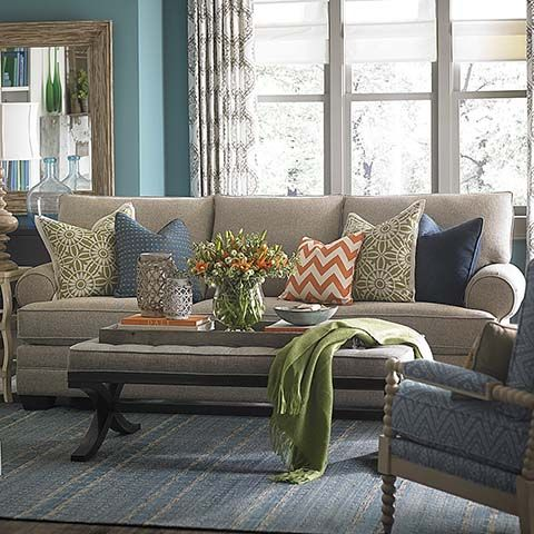check out these living room designs from bassett furniture