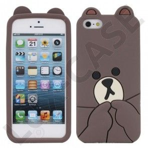 Baby Bear (Brun) iPhone 5 Cover
