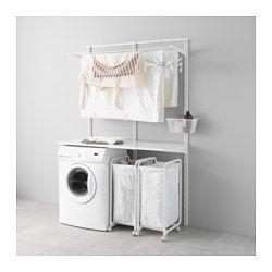 IKEA - ALGOT, Wall upright/shelves/drying rack