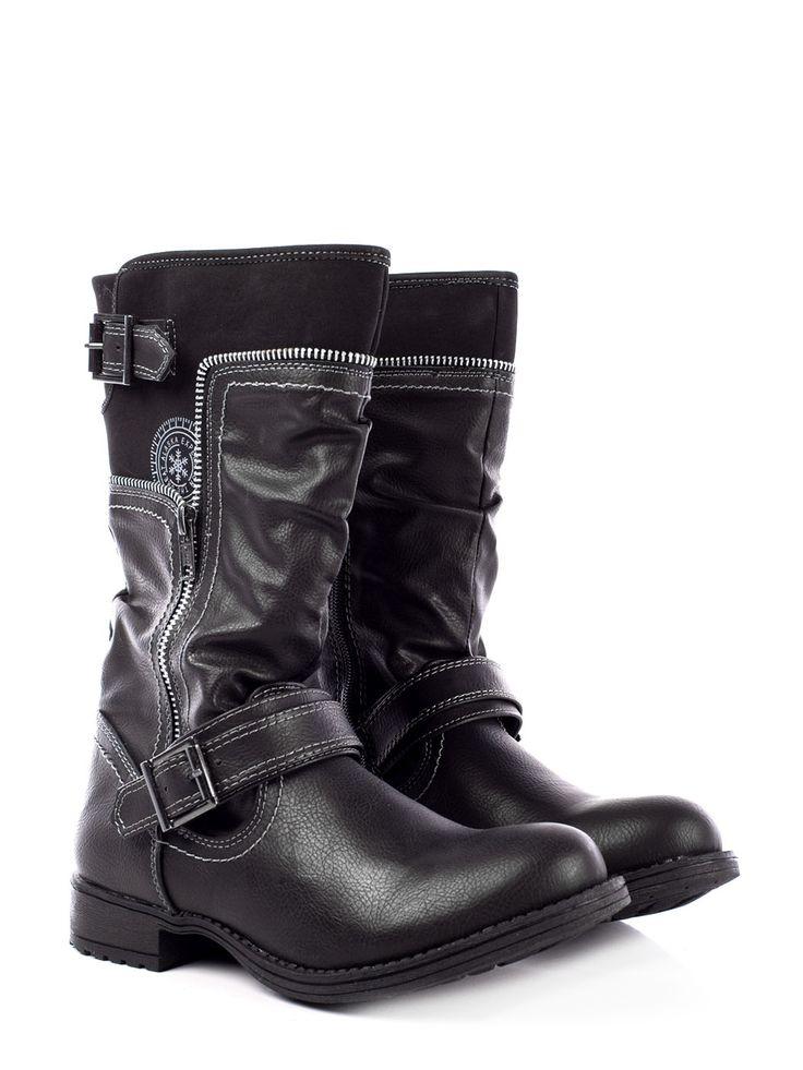 Adquiere en www.clickonero.com.mx ... Botas Capa de Ozono... Camina con estilo... #fashion #moda #zapatos #botas #botines #calzado #accesorios #negro #CapaDeOzono