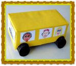 School Bus Safety Craft and Bus Song for Kids for Kids!