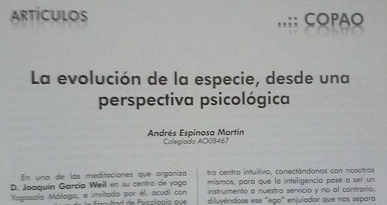 Yoga Sala Málaga: YogaSala Málaga en el Artículo del Psicólogo André...