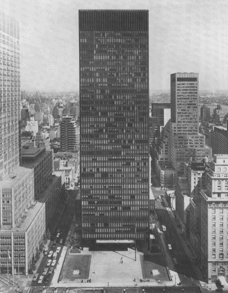 Mies Van Der Rohe, un génie de l'architecture – « Less is more » | Lola Mc Ly