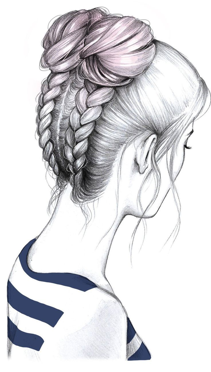 Para pelo largo, la estilista Maia Rohrer propone un peinado onda teen que combina técnicas y queda muy canchero
