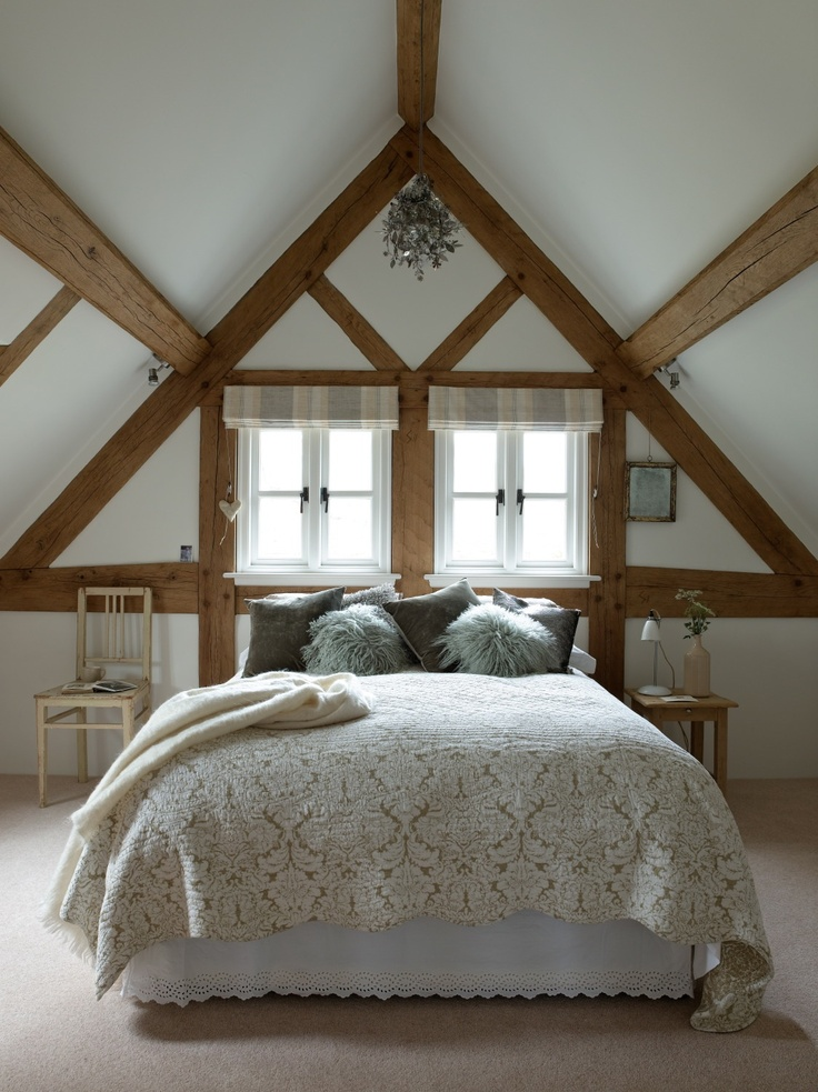 Vaulted Ceiling Bedroom Oak Framing Www Borderoak Com
