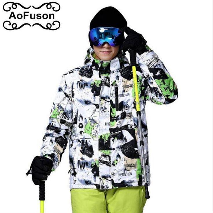 Outdoor Skiing Jacket Men Warm Wateproof Snow Jacket For Ski Snowboarding Hiking Jackets 2016 new Male Winter Snow Coats #Affiliate