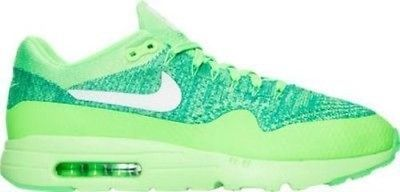 NEW Nike Air Max 1 Ultra Flyknit Running Voltage Green Shoes 843384 301 SZ 8.5 Clothing, Shoes & Accessories:Men's Shoes:Athletic #nike #jordan #shoes houseofnike.com $150.00