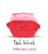 Pink Velvet, Baked by Melissa's Mini of the Month, February 2013