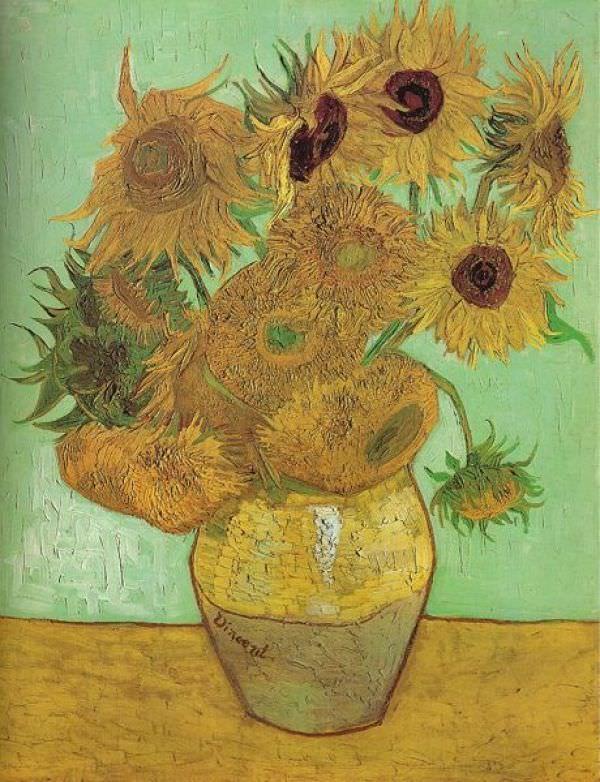 Les 25 meilleures id es de la cat gorie tournesols de van gogh sur pinterest art de van gogh - Peinture a l huile van gogh ...