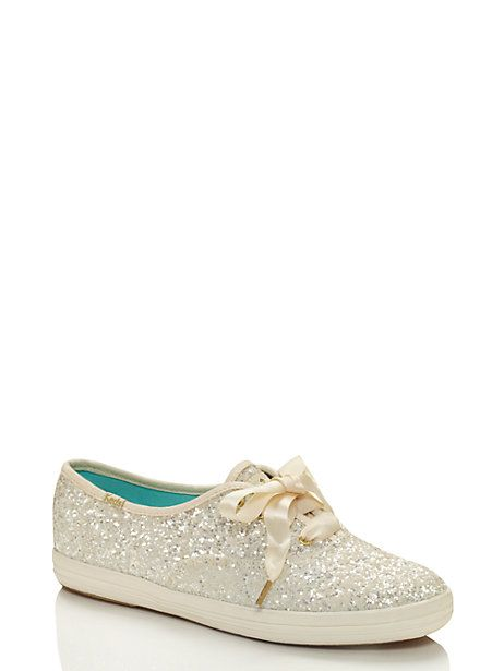 Keds for Kate Spade New York glitter sneakers--WANT