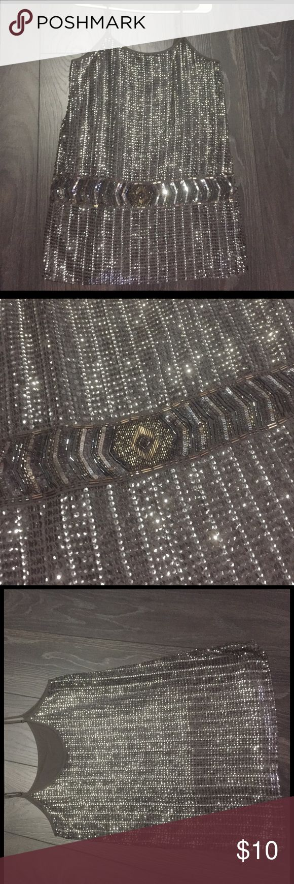 Great Gatsby inspired dress! From F21 used once for a Great Gatsby party. Goes a little above the knee Forever 21 Dresses Mini