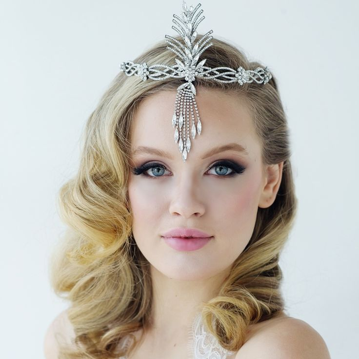 Art Deco Gatsby Inspired Crystal Headband