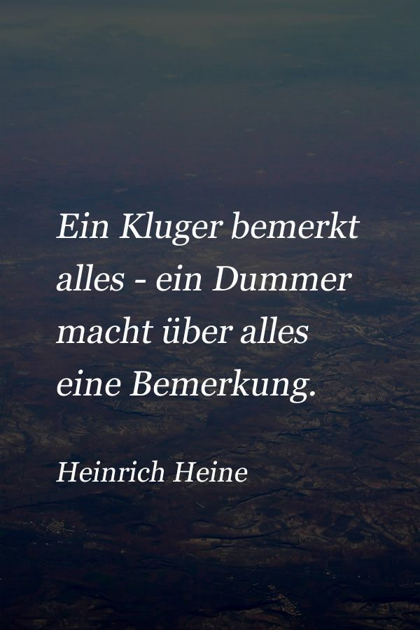 Zitat von Heinrich Heine über die Menschen – #die #Heine #Heinrich #People #A ….