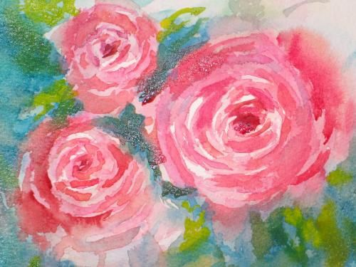 December 2005 Step-by-Step Roses — HOMEWORK - Page 9 - WetCanvas
