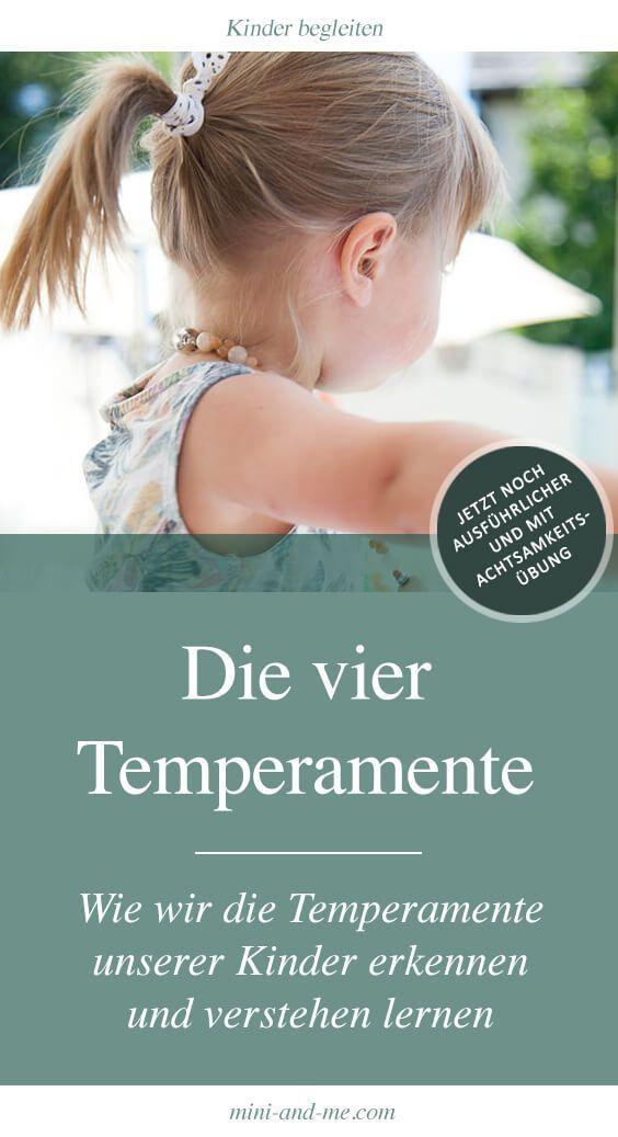 Die 4 Temperamente: Wie wir die Temperamente unserer Kinder erkennen und verstehen lernen (mit Duft-Achtsamkeitsübung)