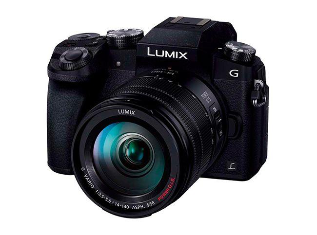 EDGED : 파나소닉, 4K/30p 촬영 지원 디지털 카메라 'DMC-G7' 발매