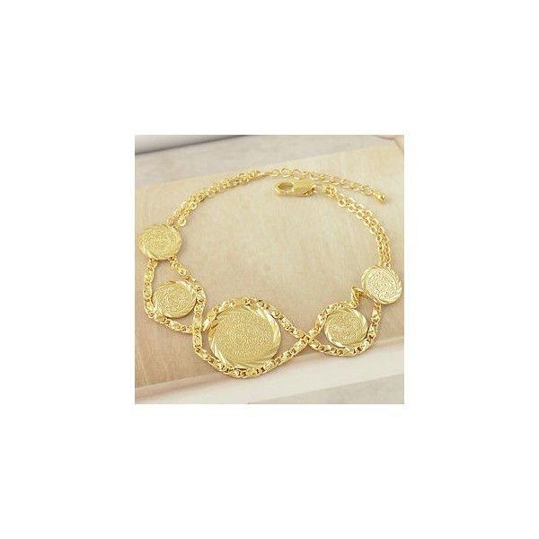 Pulsera con diseño árabe en gold filled