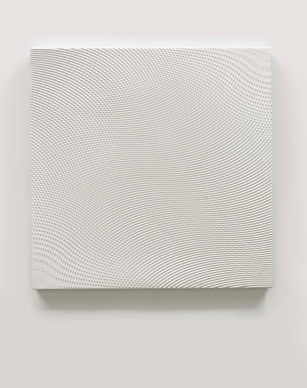 Xie Molin - Energy Field 卍, acrylic on canvas, 102.5×102.5cm, 2012,