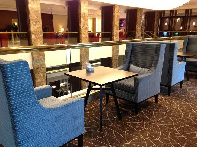 HOTELS - Hotel Marriott Warsaw #IndoorFurniture #Armchair #HotelFurniture
