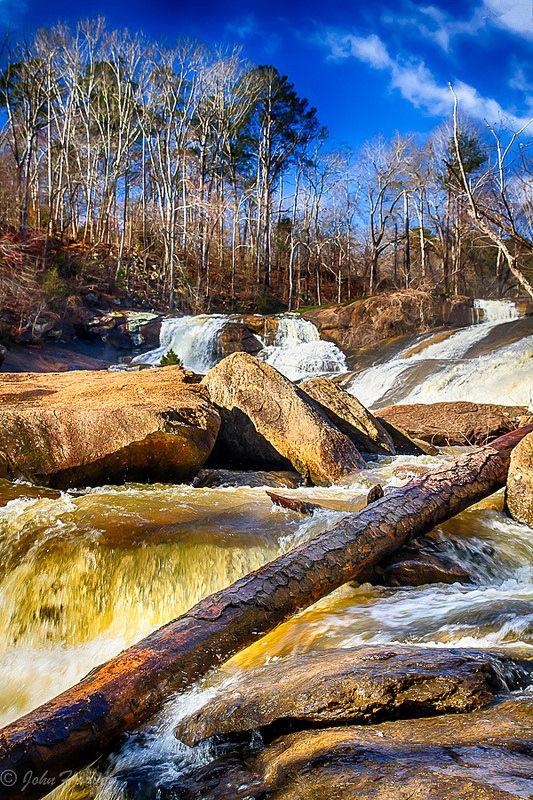 High Falls State Park in Jackson, Georgia. Photo by JWDHarvey3.