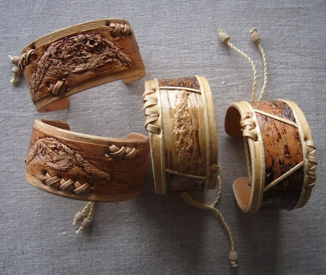 the beautiful things from birch bark