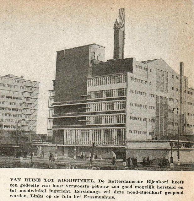 Rotterdam de Bijenkorf dec 1940 | Flickr - Photo Sharing!