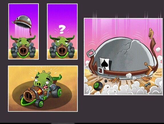 Angry Birds Go Meet Corporal Pig