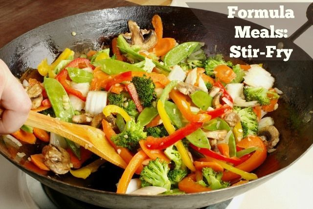formula meals for easy weeknight meals from www.foodconfidence.com