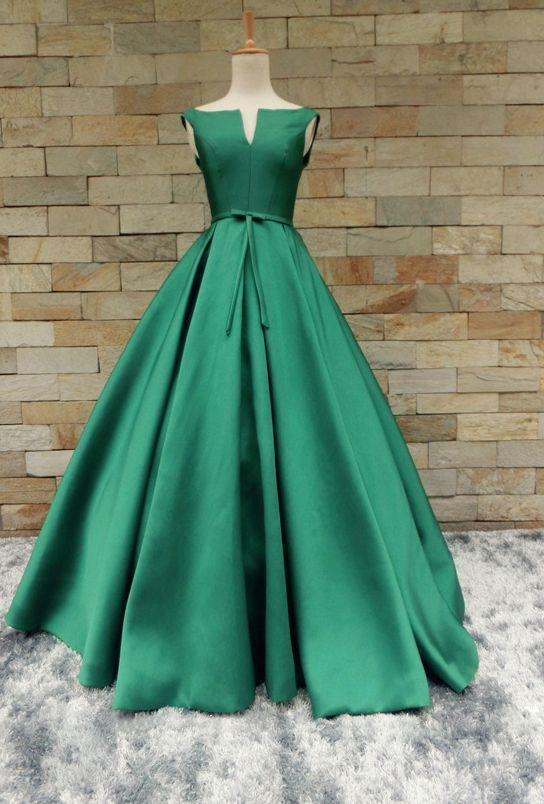 Charming Prom Dress,Green Prom Dress,Fashion Prom Dress,Sexy Party Dress,Custom Made Evening Dress