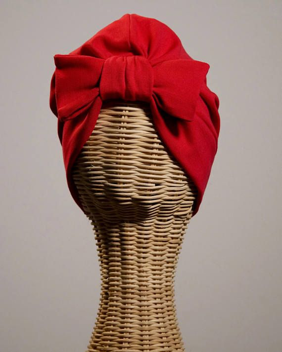 Bandalina Turban Red