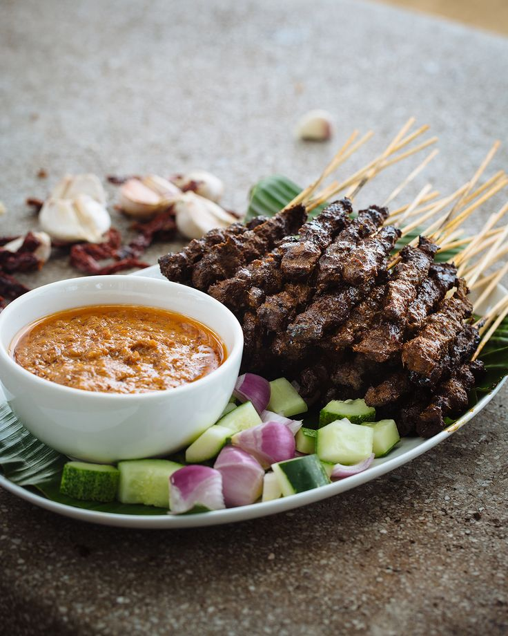Beef satay (satay daging)