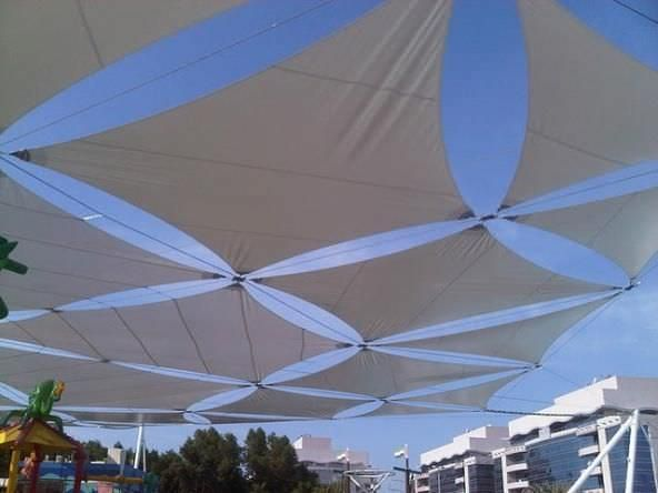 Fabric Shade Structures : Fabric shade canopy room color ideas bedroom big