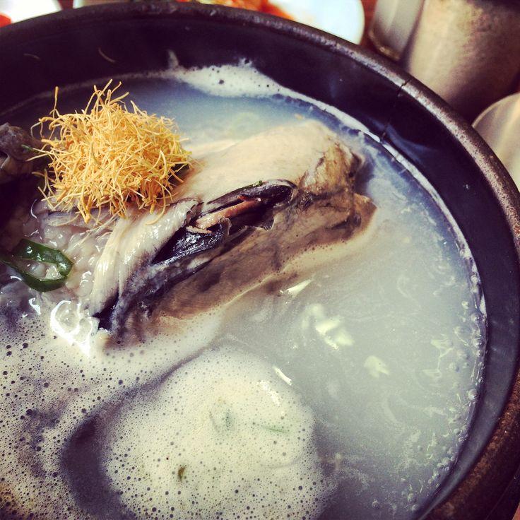 Ginseng Chicken soup @ Seoul