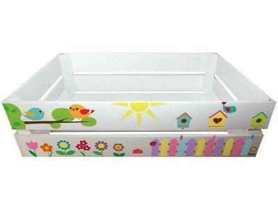 Skrzynka dla Dzieci na Zabawki Kids Crate