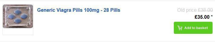 Generic Viagra Pills 100mg - 28 Pills