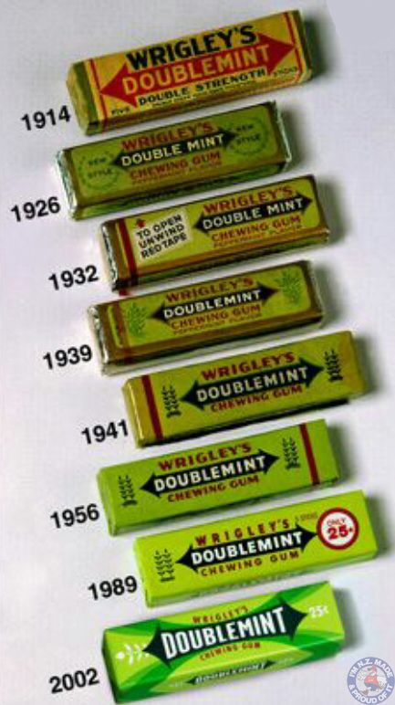Wrigleys Doublemint Packets