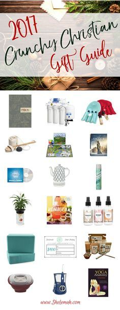All the gifts the crunchy Christian woman on your list wants for Christmas. You may even find some holistic health gifts you want for yourself. #giftguide
