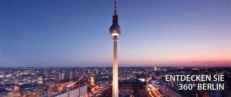 Berliner Fernsehturm  -|-  täglich von 9 Uhr bis 24 Uhr  -|-  Erwachsene: 12.50 €