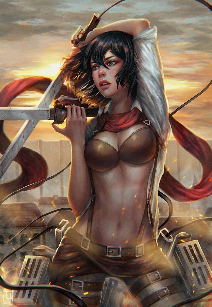 Exotication... | Mikasa by serafleur                                                                                                                                                      Mais