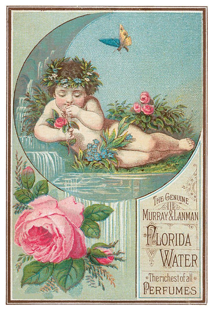 VintageFeedsacks: Free Vintage Clip Art - Vintage Perfume Trade Cards