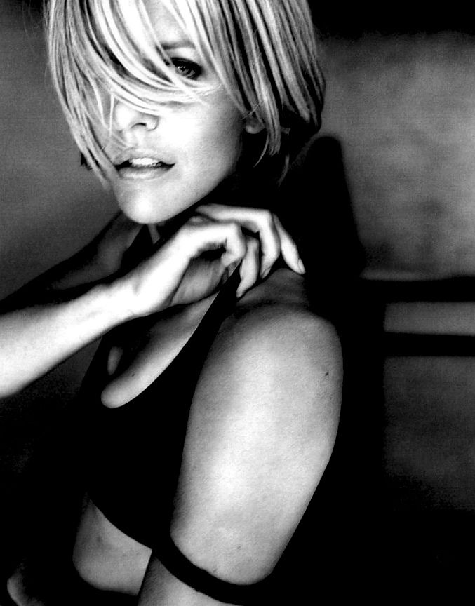 Meg Ryan. I loved her so much more before all of the Botox.