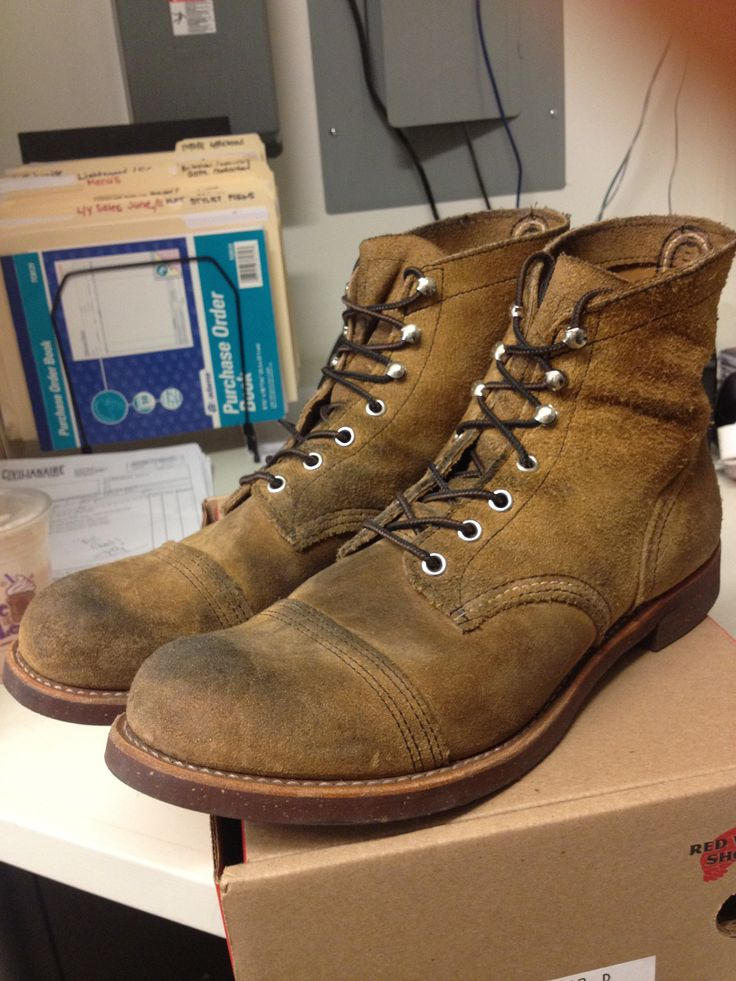 Red Wing 8113 - Iron Ranger Size 10.5