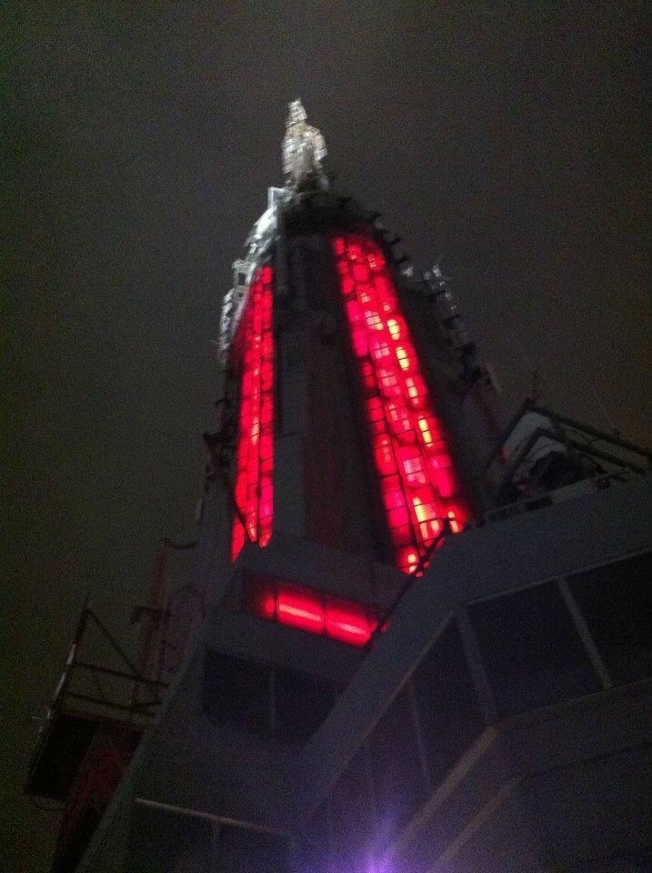 Empire State Building Gotham City style