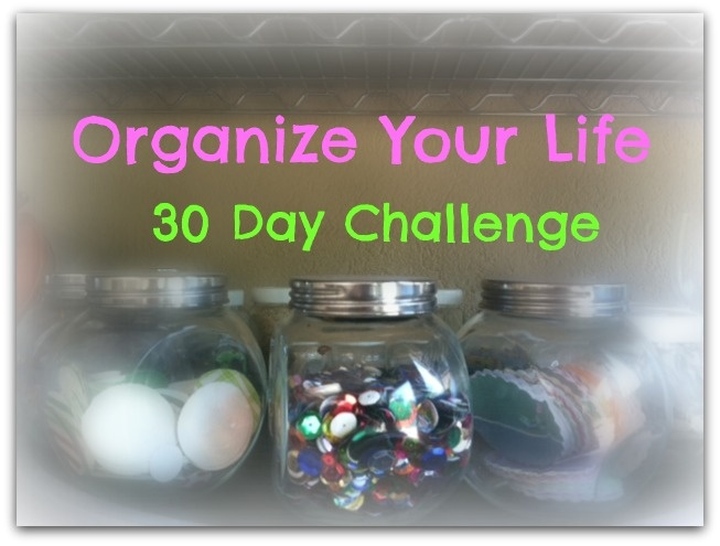 Take the 30 day challenge by spending only 5 minutes each day organizing one thing. We've got tips from the experts and fun storage solutions that will make life easy & attractive.