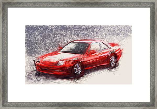 12 Honda Prelude Draw Carstoon Concept Print Framed Print By Carstoon Com Bring This Print To Life With Hundreds Of Honda Prelude Drawing Frames Framed Prints