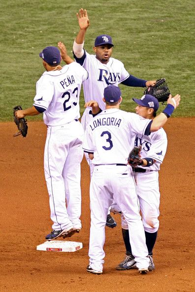 the boys ... Tampa Bay Rays. Of these players, we only still have Longo.