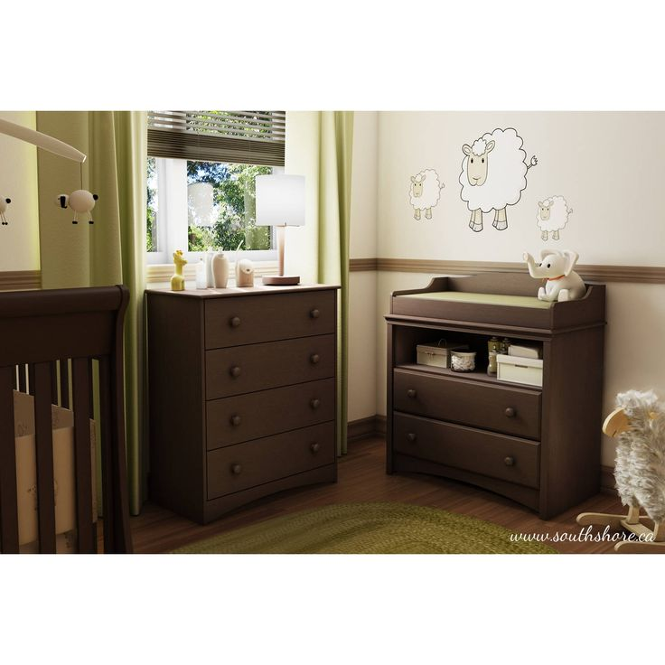 South Shore Angel 4 Drawer Chest Espresso