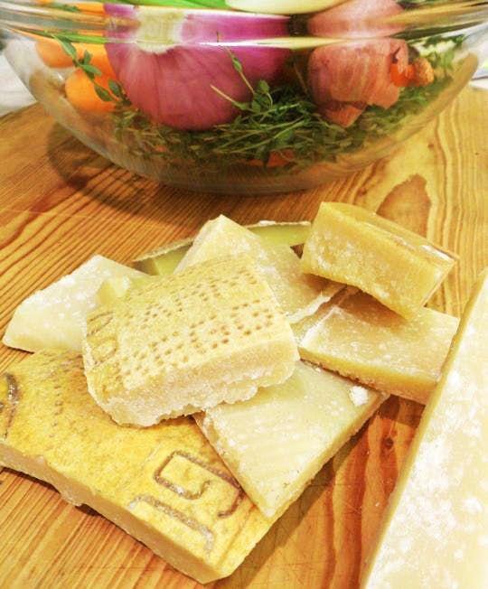 Soup Base Recipe: Parmesan Stock — The Cheesemonger