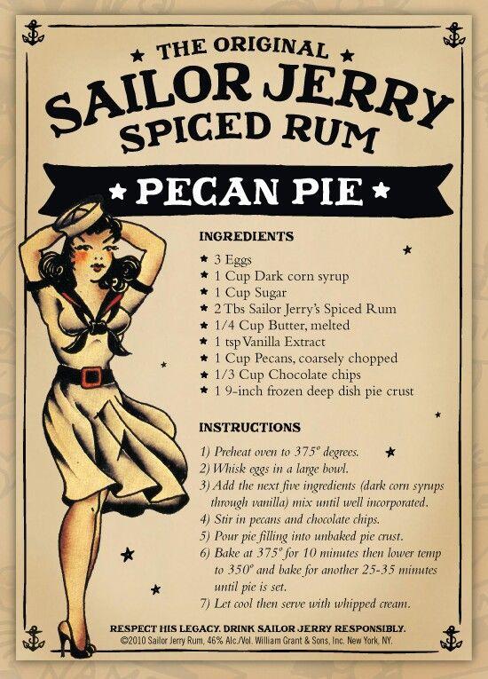 Sailor jerrys food