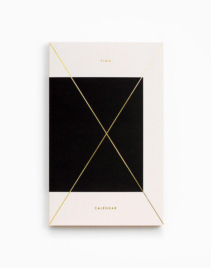 Gold Foil daily planner, Julia Kostreva
